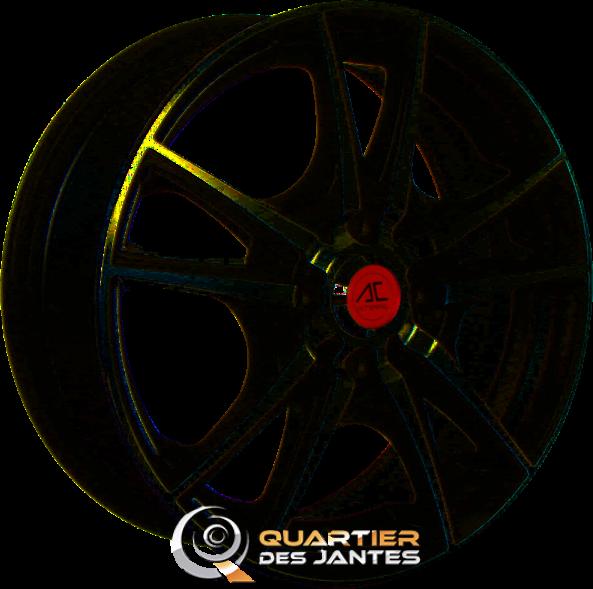 jante ac wheels w003 16 mat noir 4x100 jantes alu. Black Bedroom Furniture Sets. Home Design Ideas