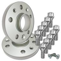 Cales Peugeot - élargisseurs de voie 20mm (la paire)
